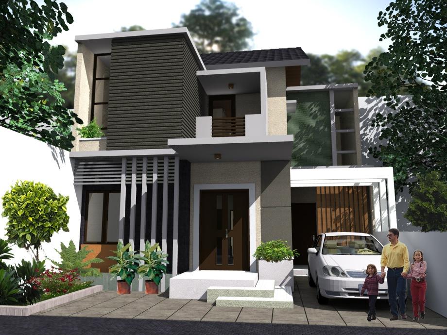 Rumah Tinggal Minimalist Tropis